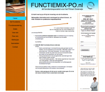 Functiemix PO